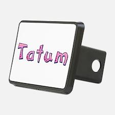Tatum Pink Giraffe Hitch Cover
