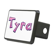 Tyra Pink Giraffe Hitch Cover