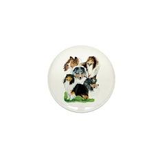 Sheltie Group Mini Button (10 pack)
