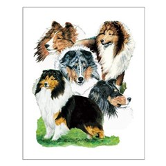 Sheltie Group Posters