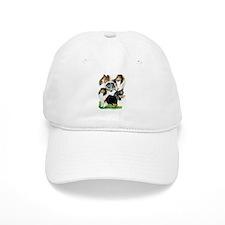 Sheltie Group Baseball Cap