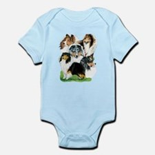 Sheltie Group Onesie