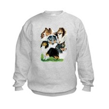 Sheltie Group Sweatshirt