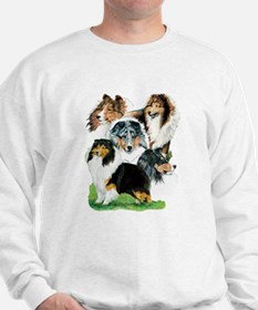 Sheltie Group Sweatshirt