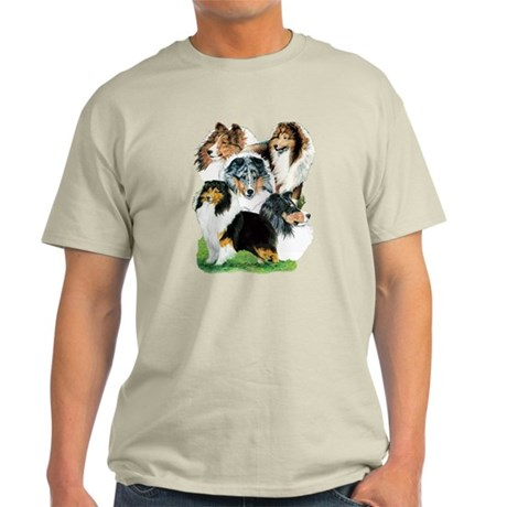 Sheltie Group Light T-Shirt