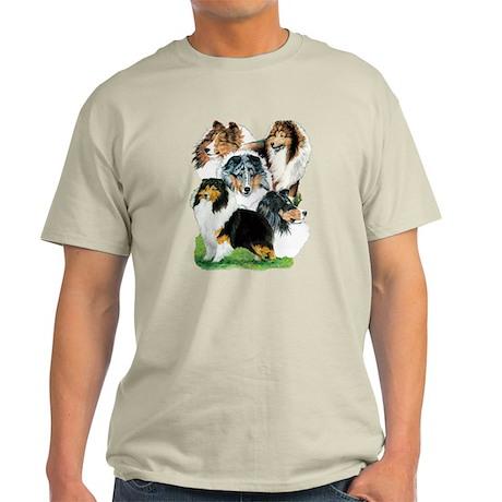 Sheltie Group Light T-Shirt