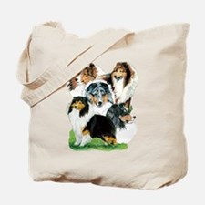 Sheltie Group Tote Bag
