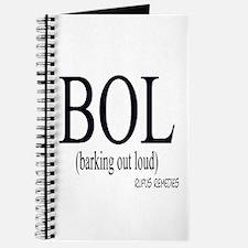 Dog Saying BOL Journal