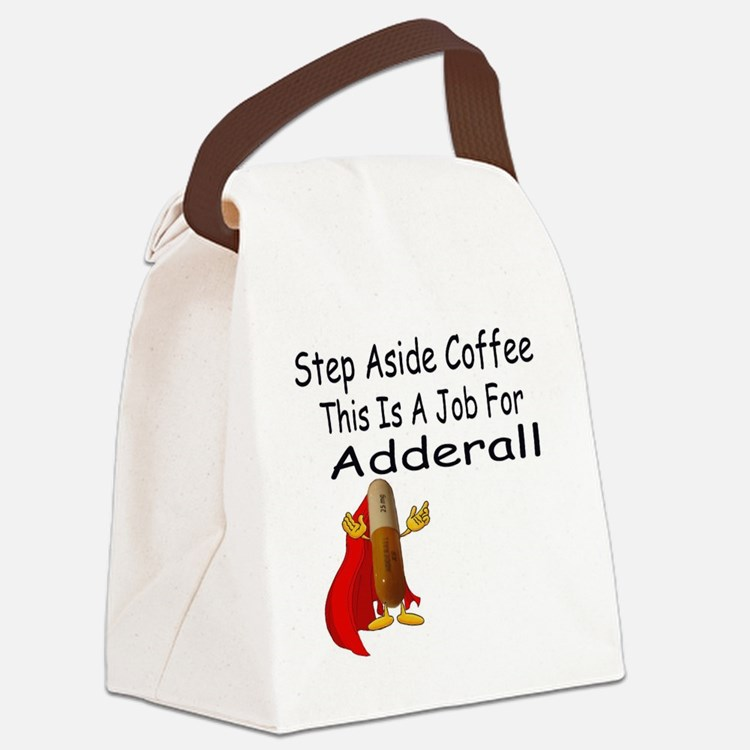 Super Adderall Canvas Lunch Bag