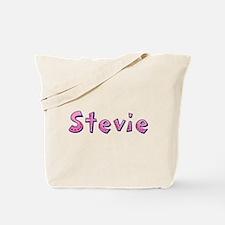 Stevie Pink Giraffe Tote Bag