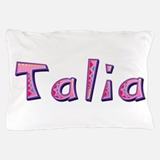 Talia Pink Giraffe Pillow Case