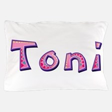 Toni Pink Giraffe Pillow Case