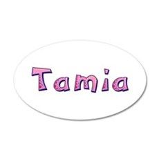 Tamia Pink Giraffe Wall Decal