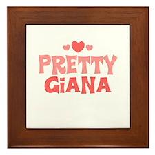 Giana Framed Tile