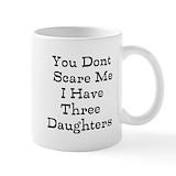 You don't scare me Coffee Mugs