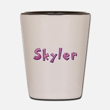 Skyler Pink Giraffe Shot Glass