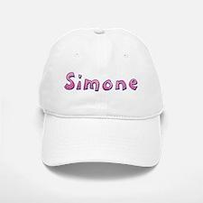 Simone Pink Giraffe Baseball Baseball Baseball Cap