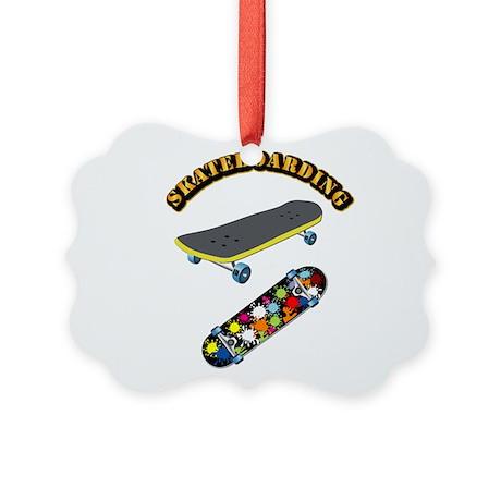 Skateboard - Skateboarding Picture Ornament