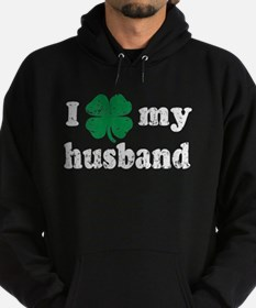 I love my Irish husband Hoodie