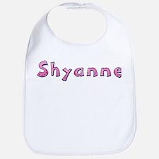 Shyanne Pink Giraffe Bib