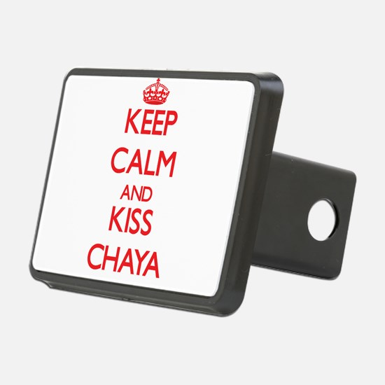 Keep Calm and Kiss Chaya Hitch Cover