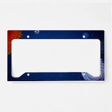 Night Sky Mural License Plate Holder