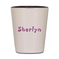 Sherlyn Pink Giraffe Shot Glass