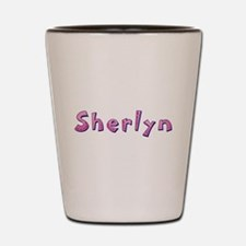 Sherlyn Pink Giraffe Shot Glass