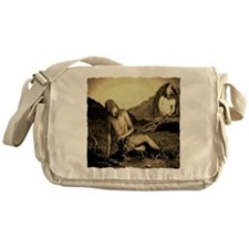Suffering Of Gods Servant Job Messenger Bag