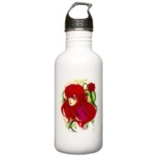 Anime Flora Water Bottle