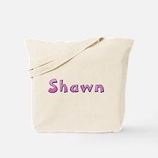 Shawn Pink Giraffe Tote Bag
