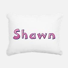 Shawn Pink Giraffe Rectangular Canvas Pillow