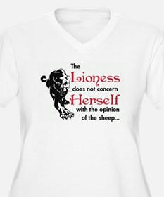 Lioness Plus Size T-Shirt
