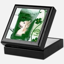 St Patricks Corgi Beer Mug Keepsake Box