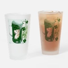 St Patricks Corgi Beer Mug Drinking Glass