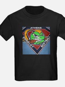 Athens Sandlot Softball EXTRA BIG LOGO T-Shirt