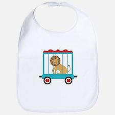 Circus Train Lion Cage Bib
