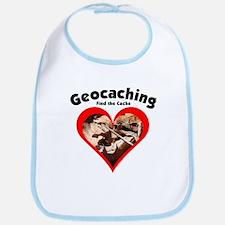 Geocaching Heart Bib