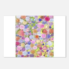 all berries colored pencil Postcards (Package of 8