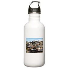Houses On The Hill Water Bottle