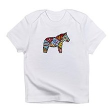 Right Facing Dala Horse Infant Infant T-Shirt