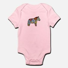 Right Facing Dala Horse Body Suit Infant Bodysuit