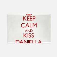 Keep Calm and Kiss Daniella Magnets