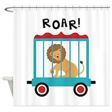 Roar! Shower Curtain
