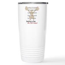 Not Acceptable Travel Mug