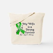 Wife Strong Survivor Tote Bag