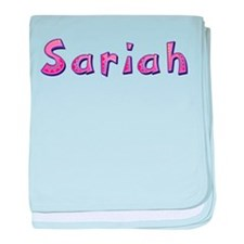 Sariah Pink Giraffe baby blanket