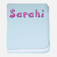 Sarahi Pink Giraffe baby blanket