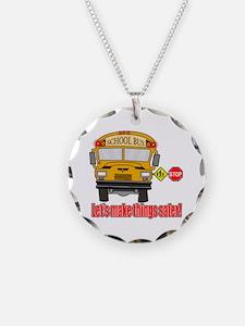 Safer school bus Necklace