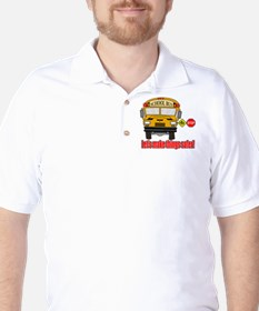 Safer school bus Golf Shirt